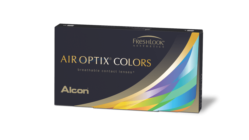 AIR OPTIX® COLORS pack shot